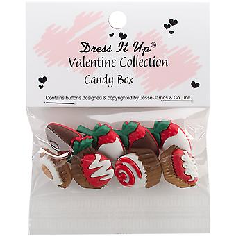 Dress It Up Holiday Embellishments-Candy Box DIUHLDAY-8141