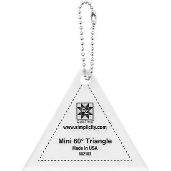 Ez Mini Tools 60 Degree Triangle 882183