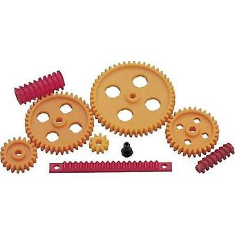Plastic Cogwheel set Modelcraft Module Type: 1.0 No. of teeth: 10, 20, 30, 40, 50 1 Set