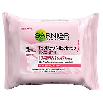 Garnier Skin Naturals wipes micellar (Woman , Cosmetics , Skin Care , Facial Cleansing)