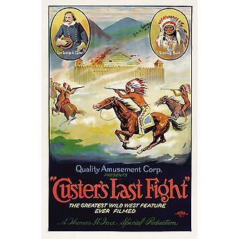 Кастерс последний плакат фильма Raid (11 x 17)