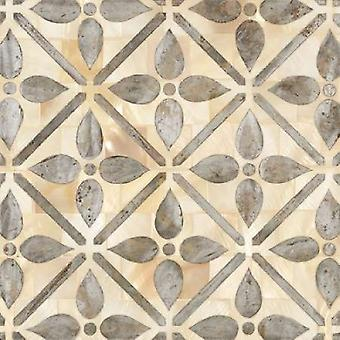 NATURAL MOROCCAN TILE 1 Poster Print by Hope Smith