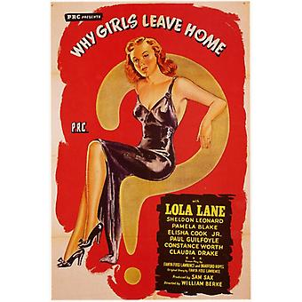 Why Girls Leave Home Movie Poster Print (27 x 40)