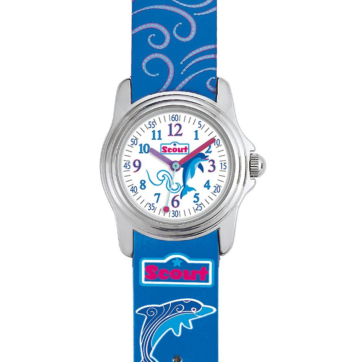Scout child watch learning sweeties Dolphin girl Watch Blue 280301013