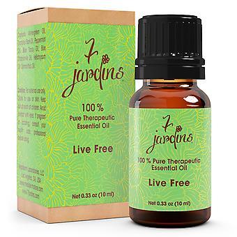 Smerte lindring Essential Oil Blend - 100% ren naturlig - muskel fælles Sport