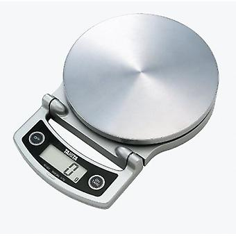 Tanita Compact Digital Lithium Kitchen Scale 5KG - Silver (KD-400)