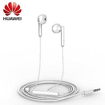 Genuine Huawei AM115 3.5mm Handsfree Earphones with Remote and Microphone for Huawei Y3 - White (Bulk, Frustration Free Packaging)