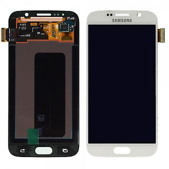 Display LCD complete set touch screen Samsung Galaxy S6 G920 G920F white