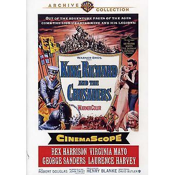 King Richard & krzyżowców (1954) [DVD] USA import