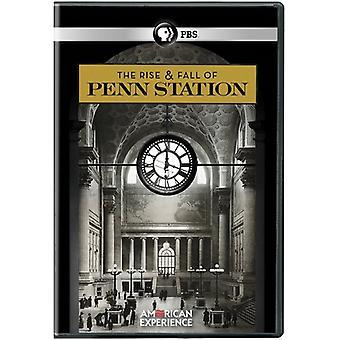 Amerykańskie doświadczenie: Importowanie powstanie & upadku USA Penn Station [DVD]