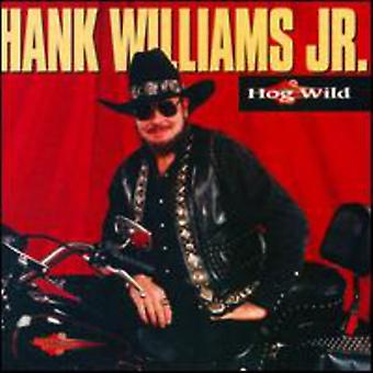 Hank Williams Jr. - Hog Wild [CD] USA importerer