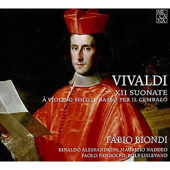 A. Vivaldi - Vivaldi: Xii Suonate Violino Solo, E Basso Per Il Cembalo [CD] USA import