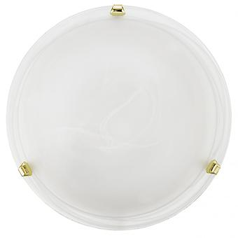 Eglo SALOME Flush Glass Ceiling Light