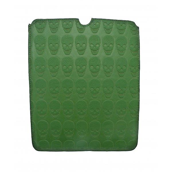 W.A.T Green Skull Ipad Cover