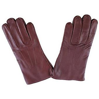 Ammaccature Mendip Leather Dress Gloves - Tan inglese