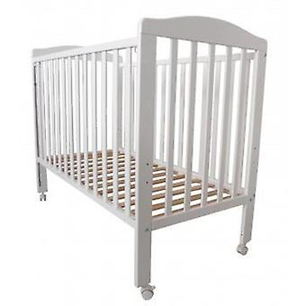 Babymobel Cot 120x60 Mi-1 Plus White