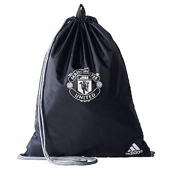 2017-2018 Man Utd Adidas Gym Bag (Night Grey)