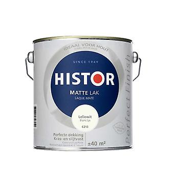 Histor Perfect Finish matte lak leliewit 6213 2,5 l