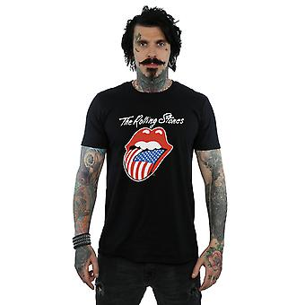 Rolling Stones mænds amerikanske tungen T-Shirt