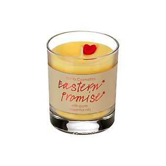 Bomb Cosmetics D# Bomb Cosmetics Glass Candle - Eastern Promise