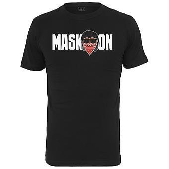 Mister tee shirt - black mask on mask off