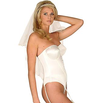 Silhouette Sirena Pearl Strapless Multiway Basque 9209