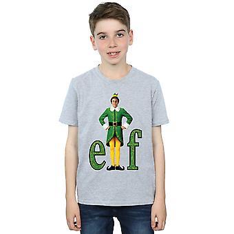 Elf Boys Buddy Logo T-Shirt