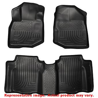 Black Husky Liners # 98491 WeatherBeater Front & 2nd Sea FITS:HONDA 2009 - 2013