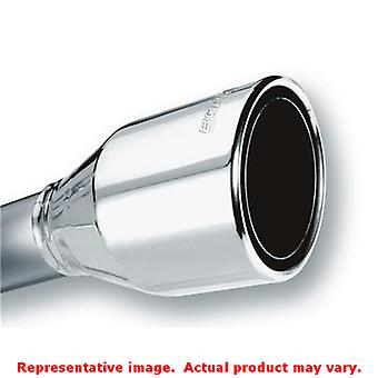 Borla Polished Muffler Tip 20247 2.50in Fits:UNIVERSAL 0 - 0 NON APPLICATION SP