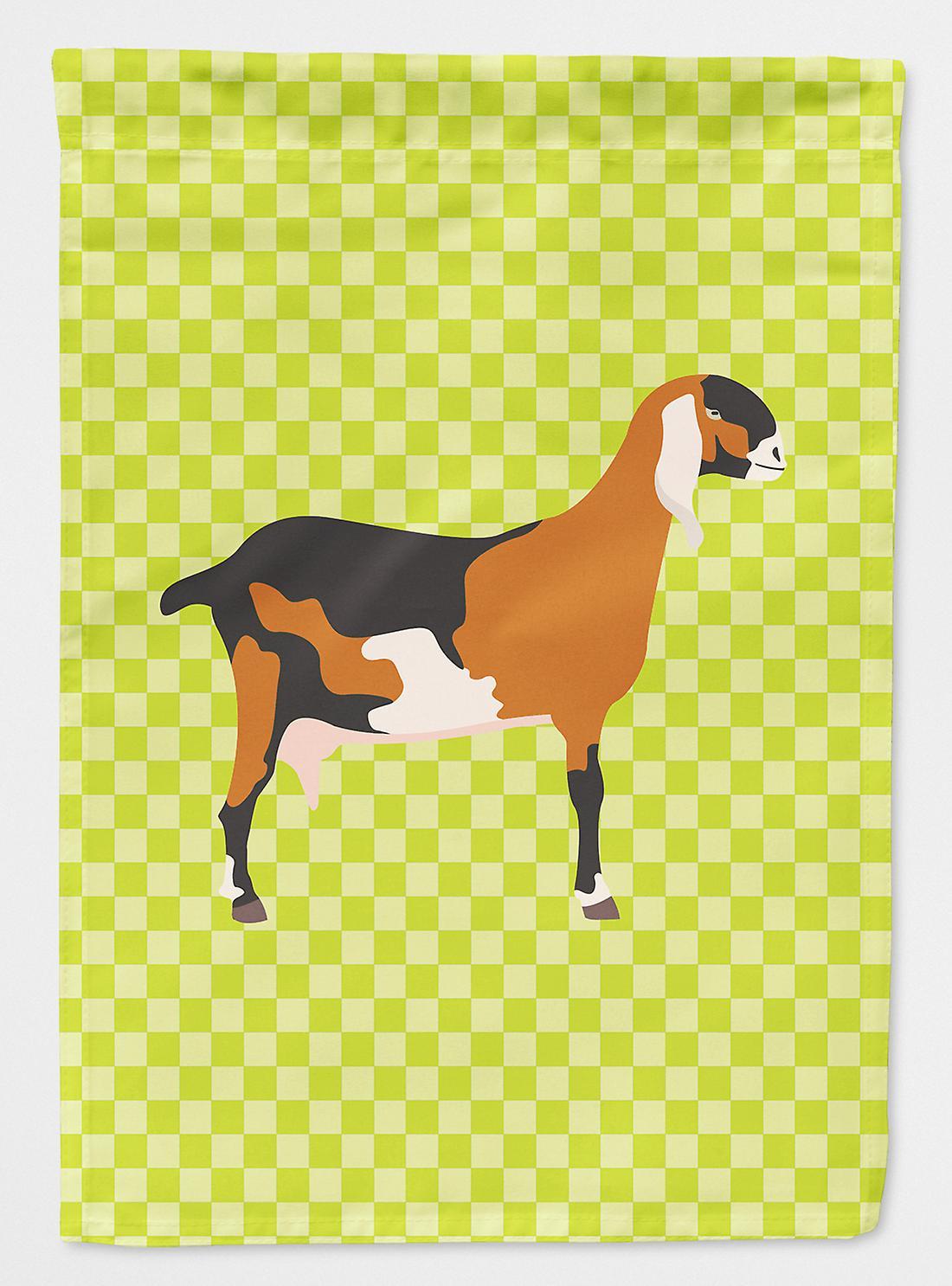 Anglo-Nubienne chèvre nubienne drapeau vert Taille maison du canevas