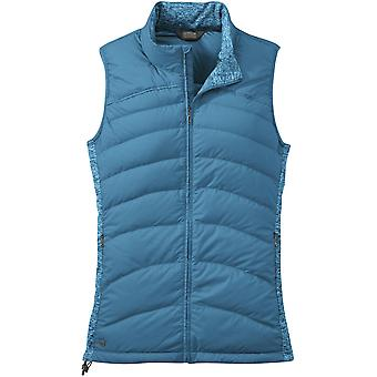 Outdoor Research Womens PLaza Down Vest Oasis (UK Size 12)