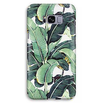 Samsung Galaxy S8 Plus Full Print Case (Glossy) - Banana leaves