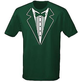 Tuxedo Fancy Dress Mens T-Shirt 10 Colours (S-3XL) by swagwear
