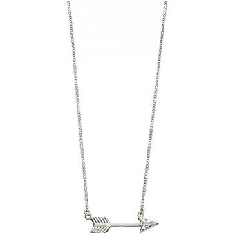 Beginnings Arrow Necklace - Silver