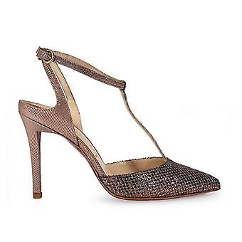 Franco Colli FC1018 ladies bronze leather pumps