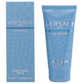 Versace Man Eau Fraiche After Shave Balm 75 Ml (Higiéne e Saúde , Barbear , Aftershave)