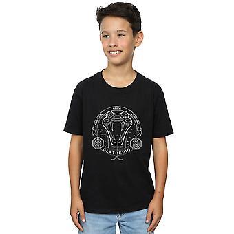 Harry Potter Boys Slytherin Seal T-Shirt
