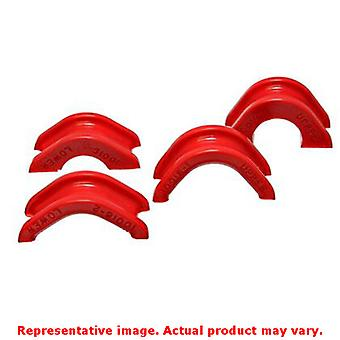 Energy Suspension Rack And Pinion Bushing Set 7.10102R Red Fits:NISSAN 1974 - 1