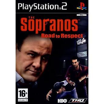 Sopranos vejen til respekt (PS2)