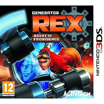 Generator Rex Agent of Providence (Nintendo 3DS)
