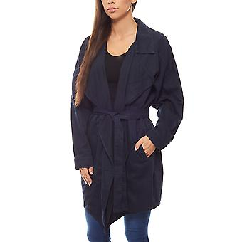 B.C.. best connections trench coat Jacket Women blue
