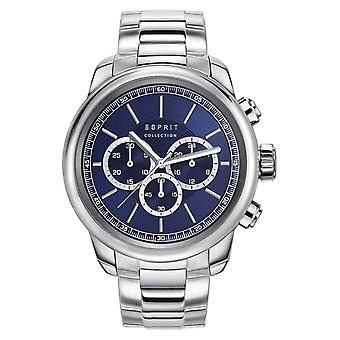 ESPRIT collection mens watch watch of Chrono Zethus stainless steel EL102171005