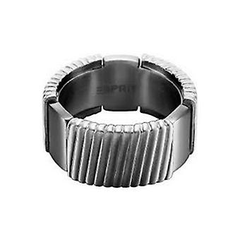 ESPRIT men's ring stainless steel flush GR 20 ESRG11375B200