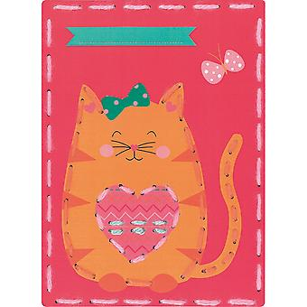 Vervaco/Kits 4 Kids Embroidery Cards Kit 7.25