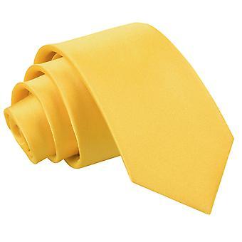 Plaine de Marigold Satin régulier cravate pour les garçons