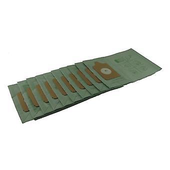 Pasuje do Numatic próżni czystsze papieru pyłu Bag (10 szt.) NVM-1CH