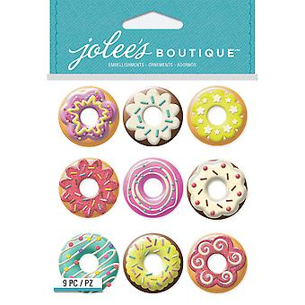 Jolee's Boutique Dimensional Stickers-Donuts