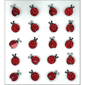 Jolee's Boutique Dimensional Stickers-Ladybugs