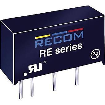 QUEDA RE-0512S 1W convertidor DC/DC RE-0512S entrada12 V 83 mA