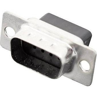 D-SUB pin strip 180 ° Number of pins: 9 Crimp MH Connectors